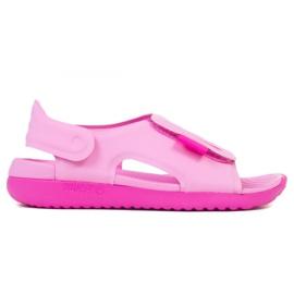 Sandale Nike Sundray Adjust 5 Jr AJ9076-601 negru roz