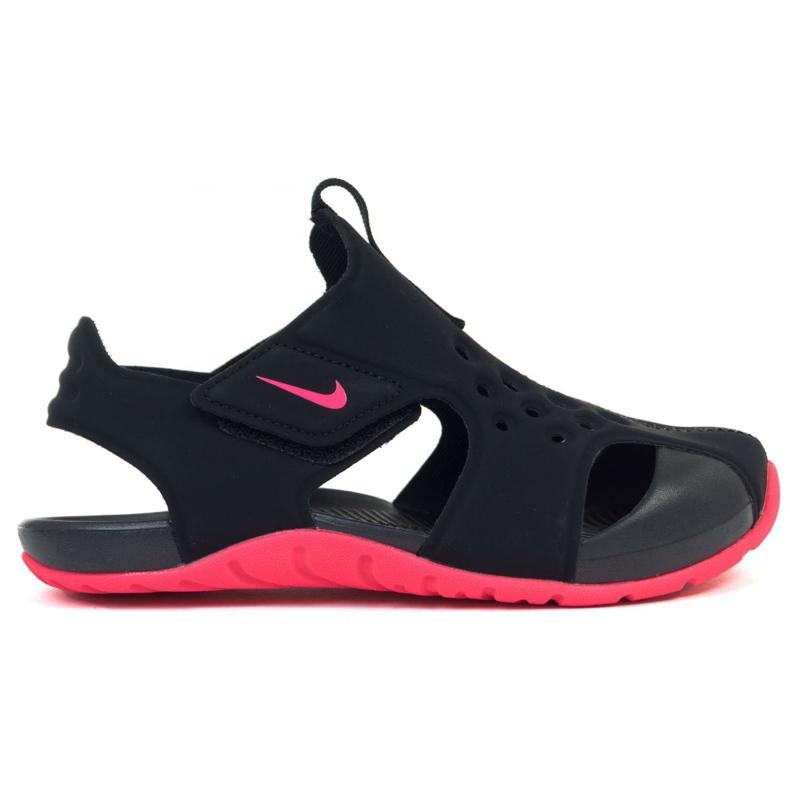 Sandale Nike Sunray Protect 2 (PS) Jr 943826-003 negru roz