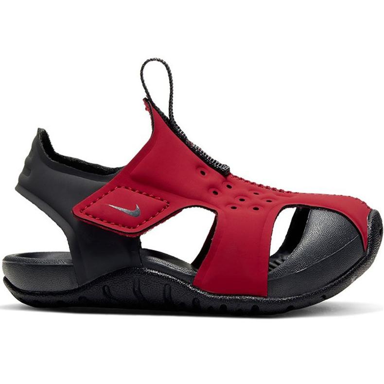Sandale pentru copii Nike Sunray Protect 2 roșu 943827 603 negru