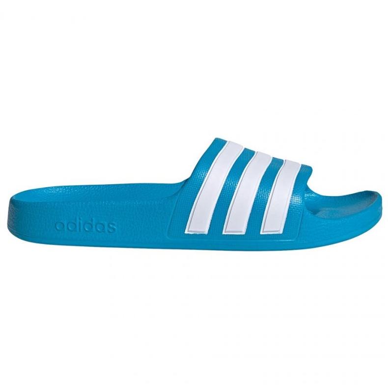 Papuci Adidas adilette Aqua K FY8071 negru albastru