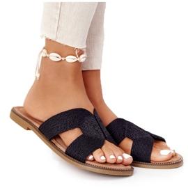 Papuci de damă eleganți S.Barski Negru