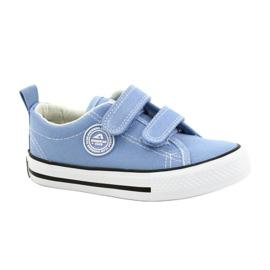 Adidași albaștri americani American Club LH64 / 21 albastru