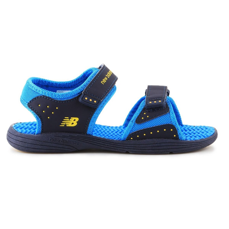 Sandale New Balance Sandal pentru copii pentru copii K2004NBL albastru marin albastru