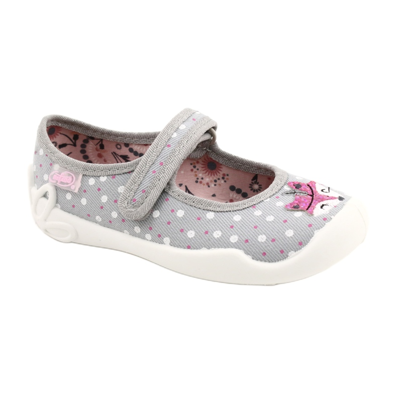 Balerini pentru fete BLANCA BEFADO 114X425 alb roz gri