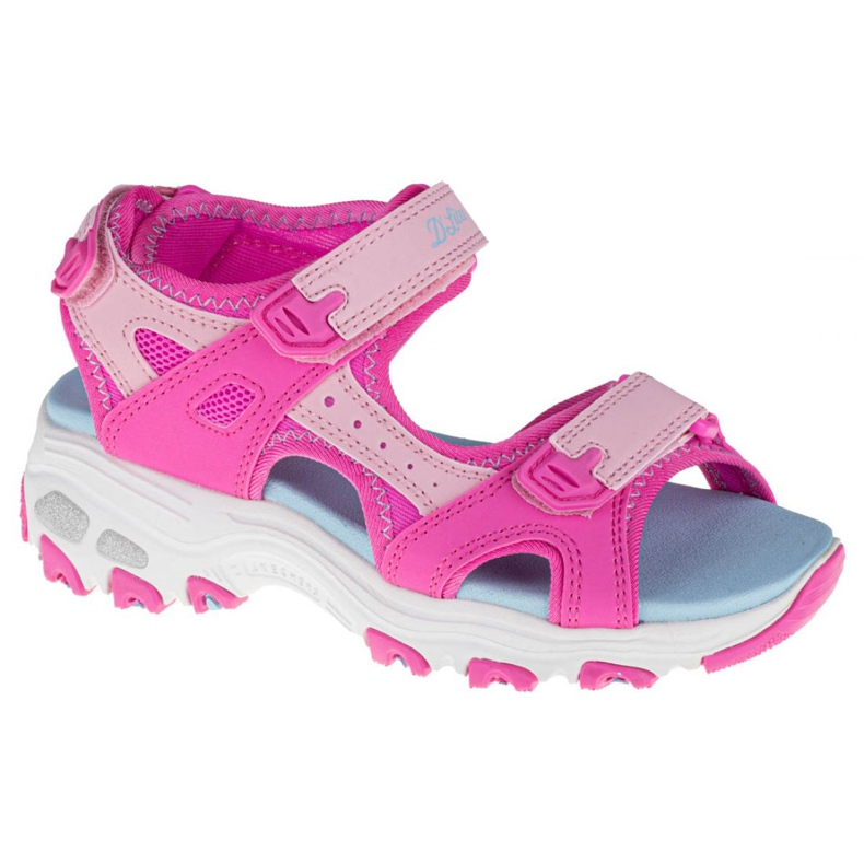 Skechers D'Lites Jr 664133L-HPMT roz