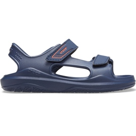 Sandale Crocs pentru copii Swiftwater Expedition bleumarin 206267 463 albastru marin