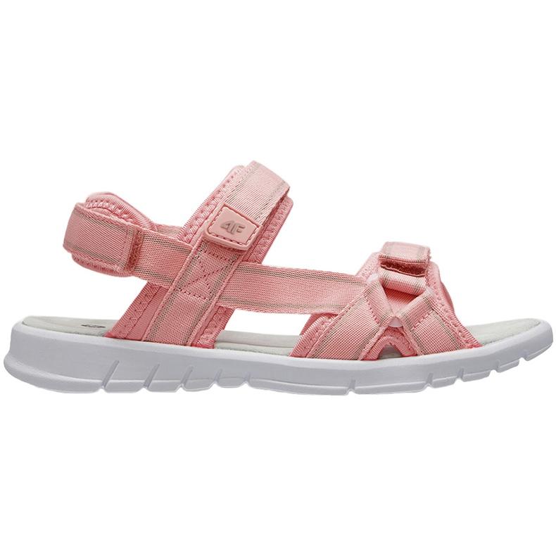 Sandale pentru fete 4F roz deschis HJL21 JSAD001 56S
