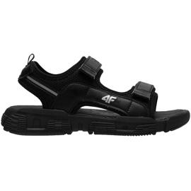 Sandale 4F Jr HJL21 JSAM002 20S negru