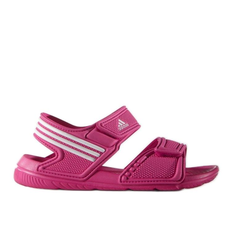 Sandale Adidas Akwah 9 Jr AF3871 albastru roz