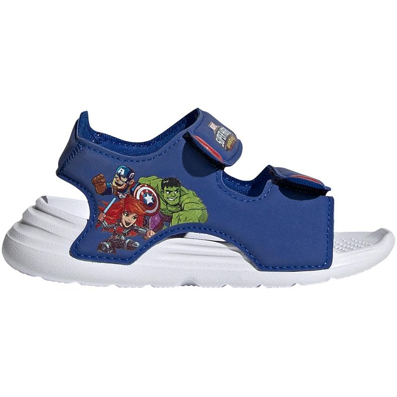 Sandale pentru copii adidas Sandal de baie I albastru FY8958
