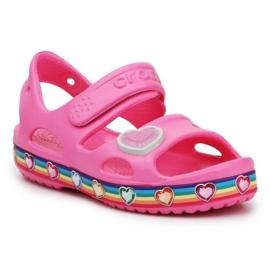 Crocs Fun Lab Rainbow Sandal Jr 206795-669 roz