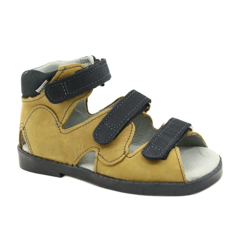 Sandale profilactice înalte Mazurek 291 gri portocaliu galben