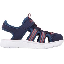 Pantofi pentru copii Kappa Kyoko, bleumarin și portocaliu 260884K 6744 albastru marin portocale