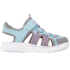 Pantofi pentru copii Kappa Kyoko albastru-gri 260884K 6316 roz