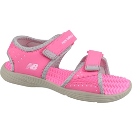 Sandale New Balance Sandal K K2004GRP roz gri