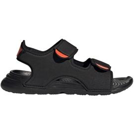 Sandale copii Adidas Swim Sandal C negru FY8936