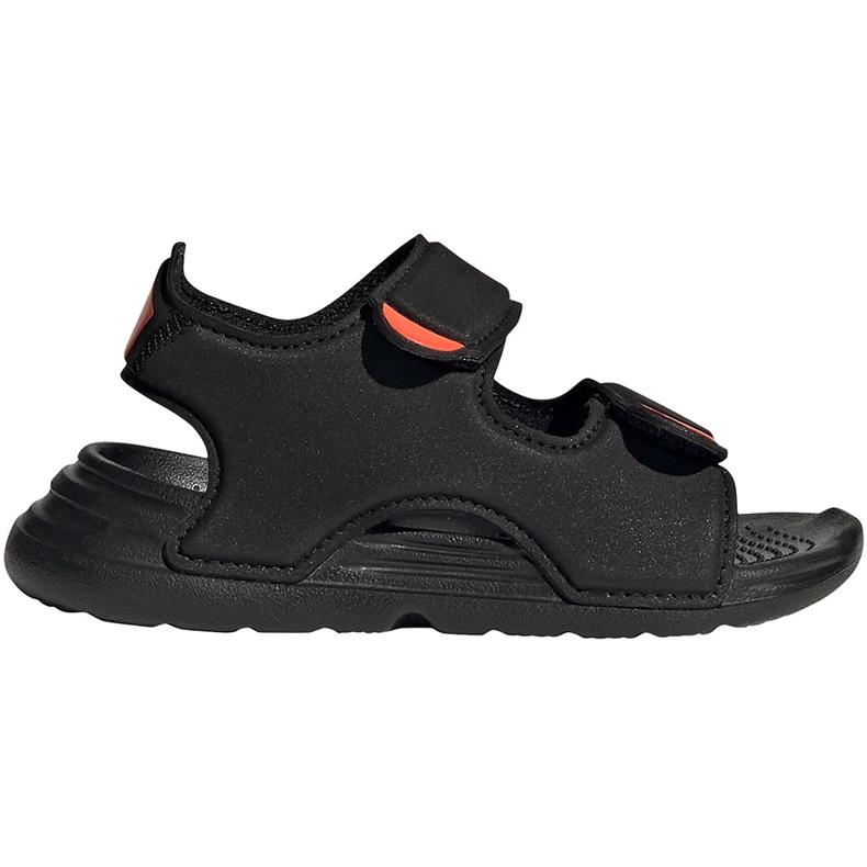 Sandale pentru copii Adidas Sandal de înot negru FY8064