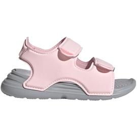 Sandale pentru copii adidas Sandal de baie I roz FY8065