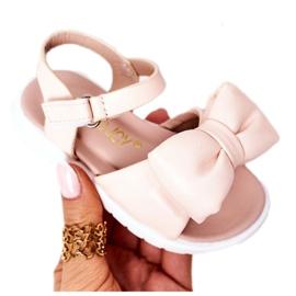 FR1 Sandale pentru copii cu arc Bow Abbie roz