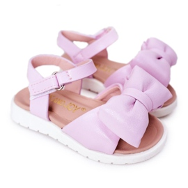 FR1 Sandale pentru copii cu arc Violet Abbie