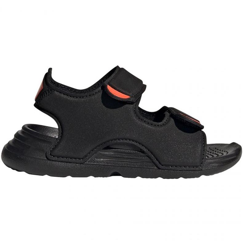 Sandale adidas Swim Sandal Jr FY8064 negru albastru