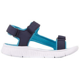Sandale pentru copii Kappa Kana bleumarin și turcoaz 260886K 6766 albastru marin albastru