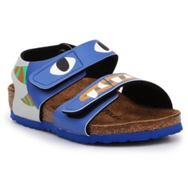 Birkenstock Palu Kids Bs 1018987 negru albastru marin