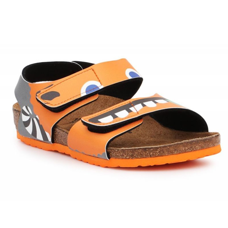 Birkenstock Palu Kids Bs 1019047 negru portocale