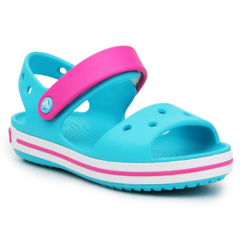 Crocs Crocband Sandal Kids 12856-4SL albastru roz