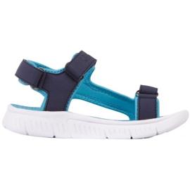 Sandale Kappa Kana Jr 260886K 6766 albastru marin albastru