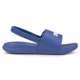 Sandale Puma Popcat 20 Backstrap Jr 380555 06 albastru