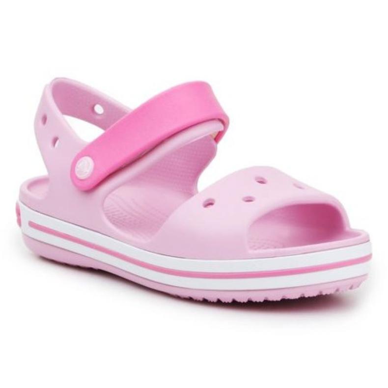 Sandale Crocs Crocband pentru copii 12856-6GD roz