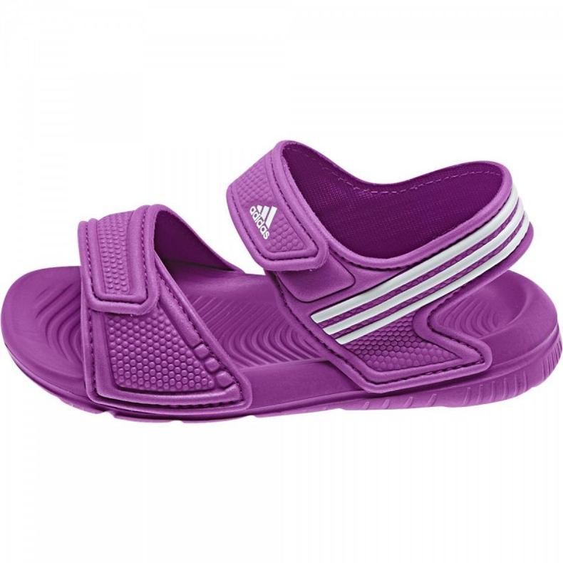 Sandale Adidas Akwah 9 Kids B40662 violet albastru