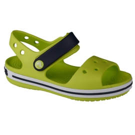 Sandale Crocs Crocband pentru copii 12856-3TX verde