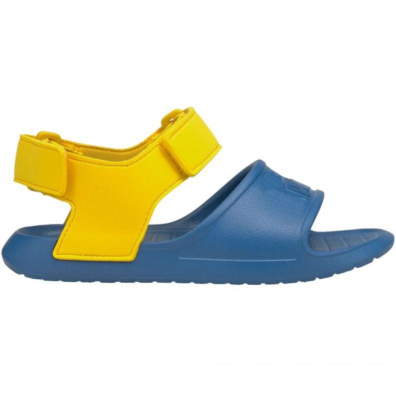 Sandale Puma Divecat v2 Injex Ps Star Jr 369546 07 albastru galben