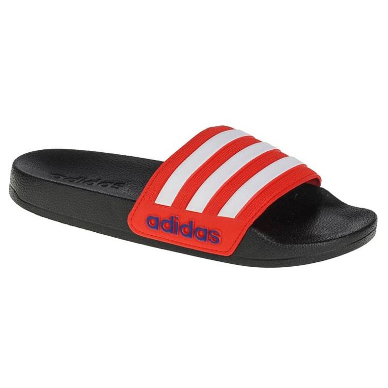 Papuci Adidas Adilette Shower Slides Jr FY8844 negru roșu