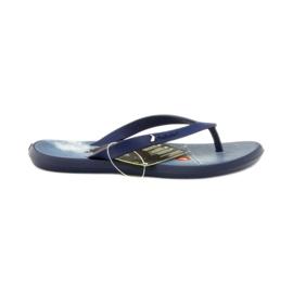 Navy blue flip flop pantofi pentru copii pantofi Rider 1307 bleumarin