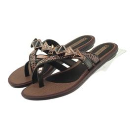 Ipanema maro Flip flops de femei pantofi cu pietre Grendha