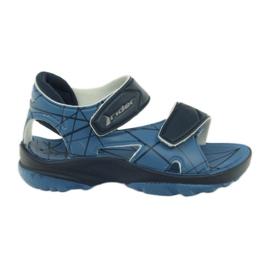 Pantofi de velcro pentru copii Sandale albastre pentru apa Rider