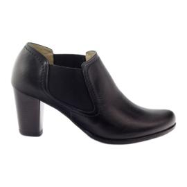 Negru Pantofi negri pentru femei Gregors 553