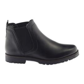 Caprice cizme de iarna pentru femei 25468 negru