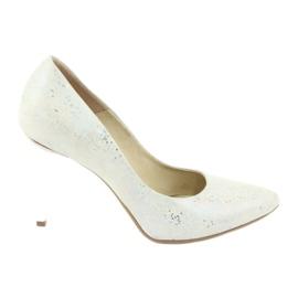 Espinto 456/96 pantofi pentru femei alb