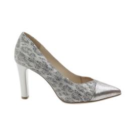 Caprice pompe pentru femei pantofi 22407 gri