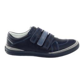 Pantofi pentru băieți, Velcro Bartuś, albastru marin