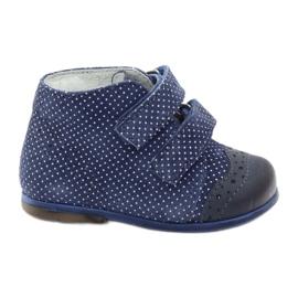 Pantofi din piele Hugotti velcro