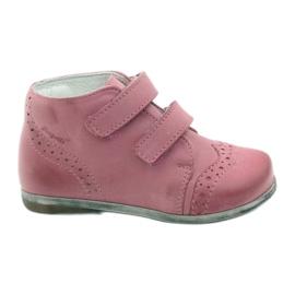 Roz Pantofi din piele Hugotti din piele Hugotti