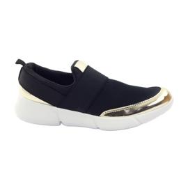 McKey Pantofi sport softshell în negru / aur