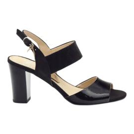 Pantofi pentru femei sandale Caprice 28307 negru
