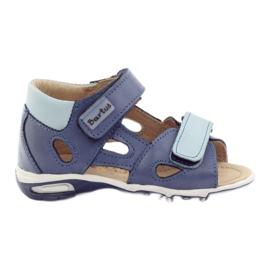 Sandale de băiat, napi Bartuś albastru