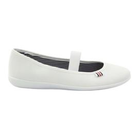 Adidași albi pentru femei Befado 493Q003 albi roșu multicolor